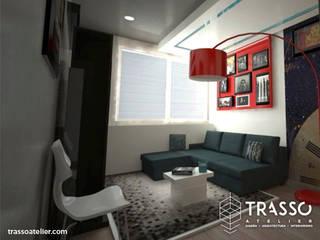 Moderne Wohnzimmer von TRASSO ATELIER Modern