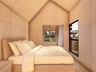 Country style bedroom by Franthesco Spautz Arquitetura Country