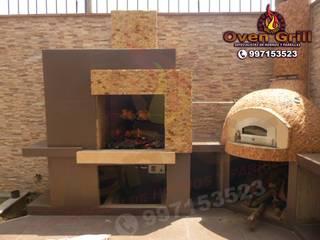 exclusivos Hornos de leña Lima Perú: Restaurantes de estilo  por Oven grill