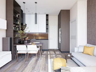 Salas de estilo moderno de Alena Rubtsova Moderno