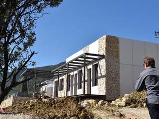 Maison bioclimatique à Seillans 83 par Agence TRIHAB Méditerranéen