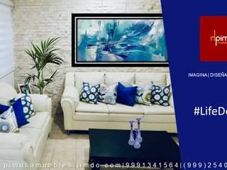 Azul:  de estilo  por Pimusa  Muebles y Decoración