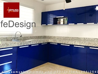 Azul de Pimusa Muebles y Decoración Moderno