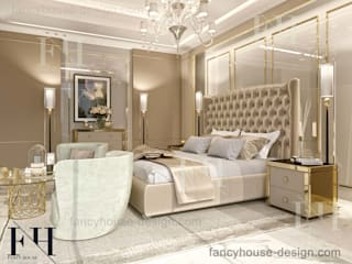 Luxury master bedrooms Modern Bedroom by Fancy House Design Modern