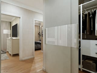 Квартира нови 66 м.кв.: Коридор и прихожая в . Автор – Шамисова Анастасия