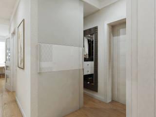 Квартира нови 66 м.кв. Коридор, прихожая и лестница в эклектичном стиле от Шамисова Анастасия Эклектичный