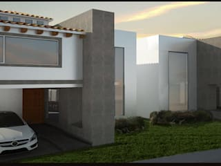 Residencia en Metepec: Condominios de estilo  por Miguel Arce