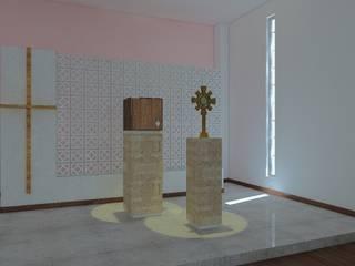 Salones eclécticos de Arq. Pedro Cortez R Ecléctico