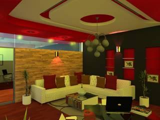 Remodelación | Loft Ross Salones modernos de Arquitectura & Diseño Moderno