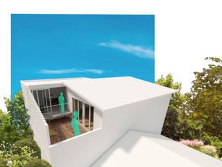 Balcones y terrazas minimalistas de Tekne Minimalista