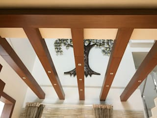 Interiors @Ajmera villows:  Dining room by Renovart