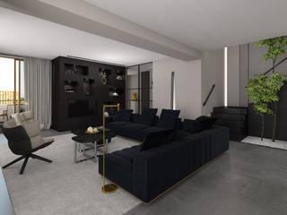 Modern living room by Studio Mariska Jagt Modern