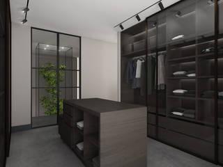 Modern dressing room by Studio Mariska Jagt Modern