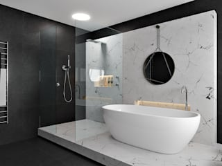 Bathroom by Zero Point Visuals