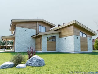 Wooden houses by hq-design, Modern
