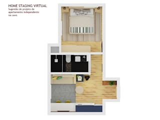 Home Staging 3D (modelação) por DG • Design de Interiores