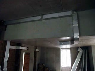 Система вентиляции частного дома:  в . Автор – ТЕРРИТОРИЯ Комфорта