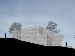 Progetto di casa in collina di smellof.DESIGN Moderno