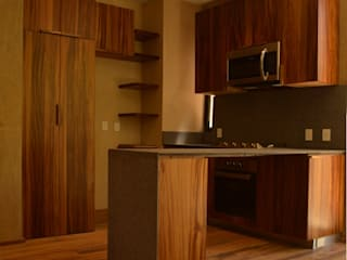 MOKALI Carpintería Residencial Modern kitchen Wood Multicolored