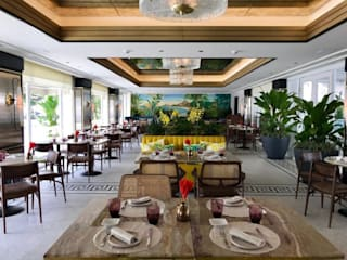 Tropical style gastronomy by Froma Arquitetura Tropical