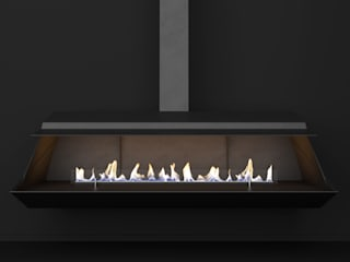 مدرن  توسطShelter ® Fireplace Design , مدرن