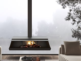 Bellic — Flow Collection :   por Shelter ® Fireplace Design ,
