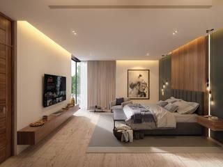 ห้องนอน โดย Álvarez Bernés Arquitectura, โมเดิร์น