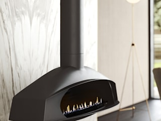 Una — Flow Collection :   por Shelter ® Fireplace Design ,