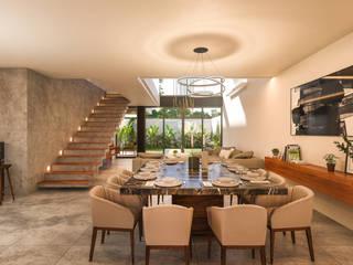 Casa CG: Comedores de estilo  por Álvarez Bernés Arquitectura