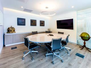 Oficina Estudios y despachos modernos de BODIN BODIN ARQUITECTOS Moderno