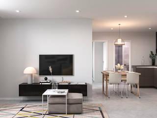 Renders de Apartamento en Albacete de Proyecto 3D Valencia Renders Animaciones 3D Infografias Online Moderno