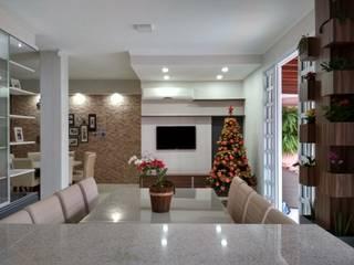 Reforma Residência OC: Salas de jantar  por Fase1 Arquitetura e Design