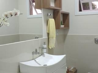 Reforma Residência OC: Banheiros  por Fase1 Arquitetura e Design