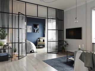 Renders 3D para pisos, servicio online de Proyecto 3D Valencia Renders Animaciones 3D Infografias Online Ecléctico
