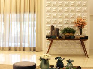 Casa J & E Salas de estar modernas por Arquiteta Bianca Monteiro Moderno