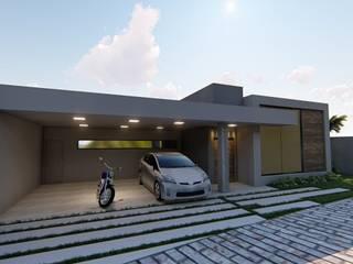 Casa de campo C.A. : Casas  por Igor Cunha Arquitetura