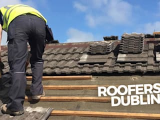 Roof terrace by Roofers Dublin