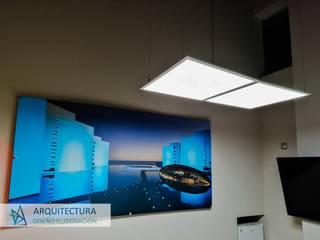 Oficinas Ilumileds CDMX ADI ARQUITECTOS Estudios y despachos modernos