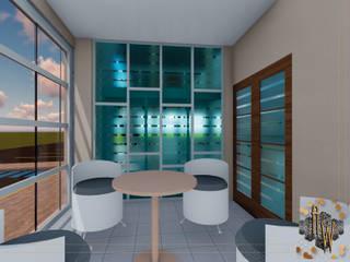 Remodelación de Oficinas : Estudios y oficinas de estilo  por Architectural Workshop,