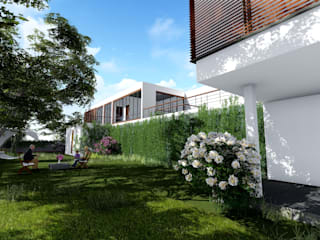 Villa,Pune Modern houses by Ground 11 Architects Modern