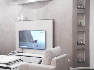 Квартира 140 кв м. в Москве в современном стиле. Дизайнеры Андрей и Екатерина Андреевы. от Андреевы.РФ