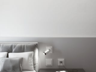 Modern style bedroom by Gira, Giersiepen GmbH & Co. KG Modern