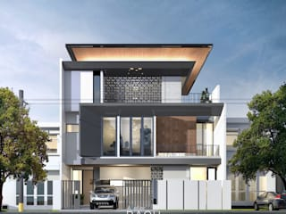 MC HOUSE:  Rumah tinggal  by Atelier BAOU+