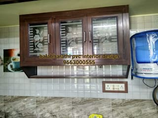 balabharathi pvc interior design KitchenTables & chairs Wood-Plastic Composite Brown