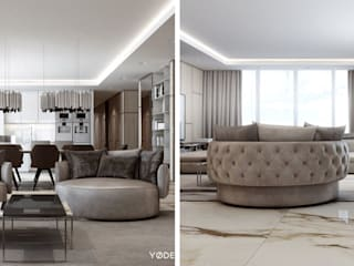 Living room by DelightFULL, Modern