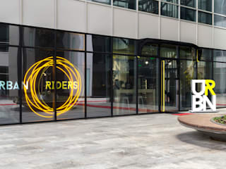 Urban Riders Modern Fitness Odası GRAVITY DESIGN & CONSULTANCY Modern