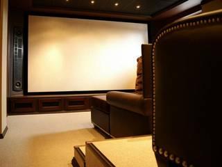 Персональный кинозал в Санкт-Петербурге: Медиа комнаты в . Автор – Atmosferoom
