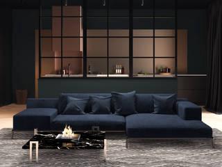 الحد الأدنى  تنفيذ Shelter ® Fireplace Design , تبسيطي