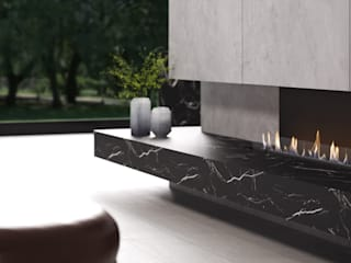 por Shelter ® Fireplace Design Moderno