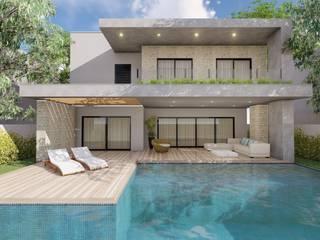 Casa das Camélias: Casas  por 1LLAR Arquitetura,Moderno